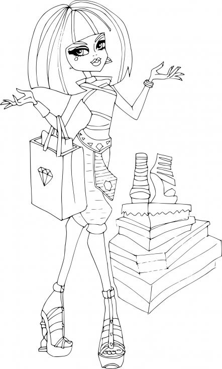 Cleo de Nile à la mode